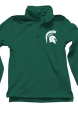 Wes and Willy Evergreen MSU 1/4 Zip Top