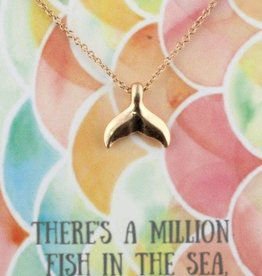 Jane Marie Mermaid Tail Necklace