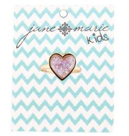 Jane Marie Druzy Heart Ring