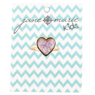 Jane Marie Druzy Heart Ring