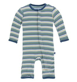 Kickee Pants Boy Perth Stripe Coverall