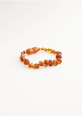 The Amber Monkey Polished Baroque Baltic Amber Bracelet