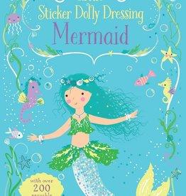 Usborne Books Sticker Dolly Dress Mermaids