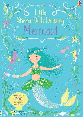 Usborne Books Sticker Dolly Dress Mermaids