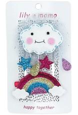Lily and Momo sunshine rainbow hair clip multi
