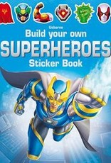 Usborne Books BYO Superhero Sticker Book