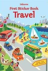 Usborne Books First Travel Sticker Book