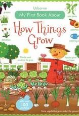 Usborne Books How Things Grow Stickers