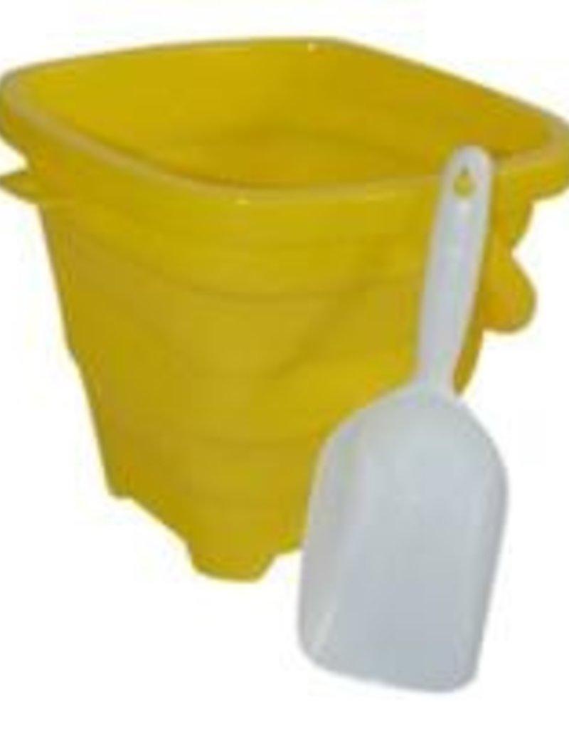 Aqua Vault Sunshine Yellow Packable Pail