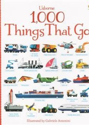 Usborne Books 1000 things that go book