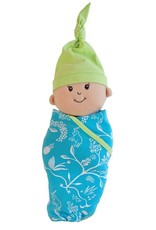 Manhattan Toy Swaddling Blanket and Cap Baby Stella