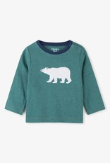Hatley Civilian Teal Polar Bear Tee