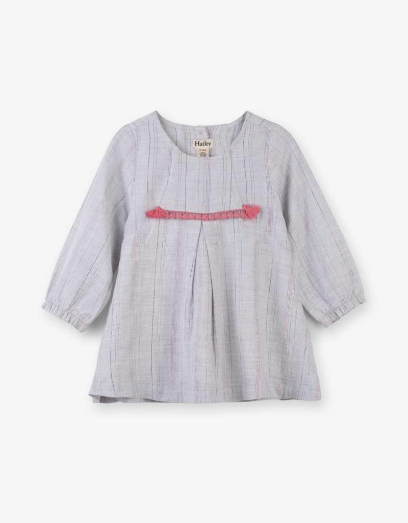 Hatley Metallic Stripe Party Dress