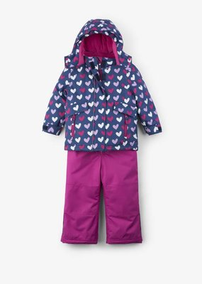 Hatley Multi Heart Snow Suit Set
