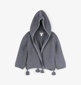 Hatley Charcoal Grey Shimmer Slouchy Cardigan