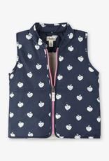 Hatley Patterned Apple Sherpa Lined Vest