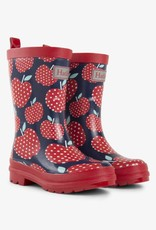 Hatley Polka Dot Apple Rain Boots