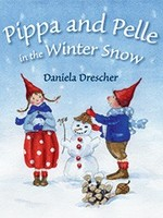 Pippa and Pelle in the Winter Snow - BB