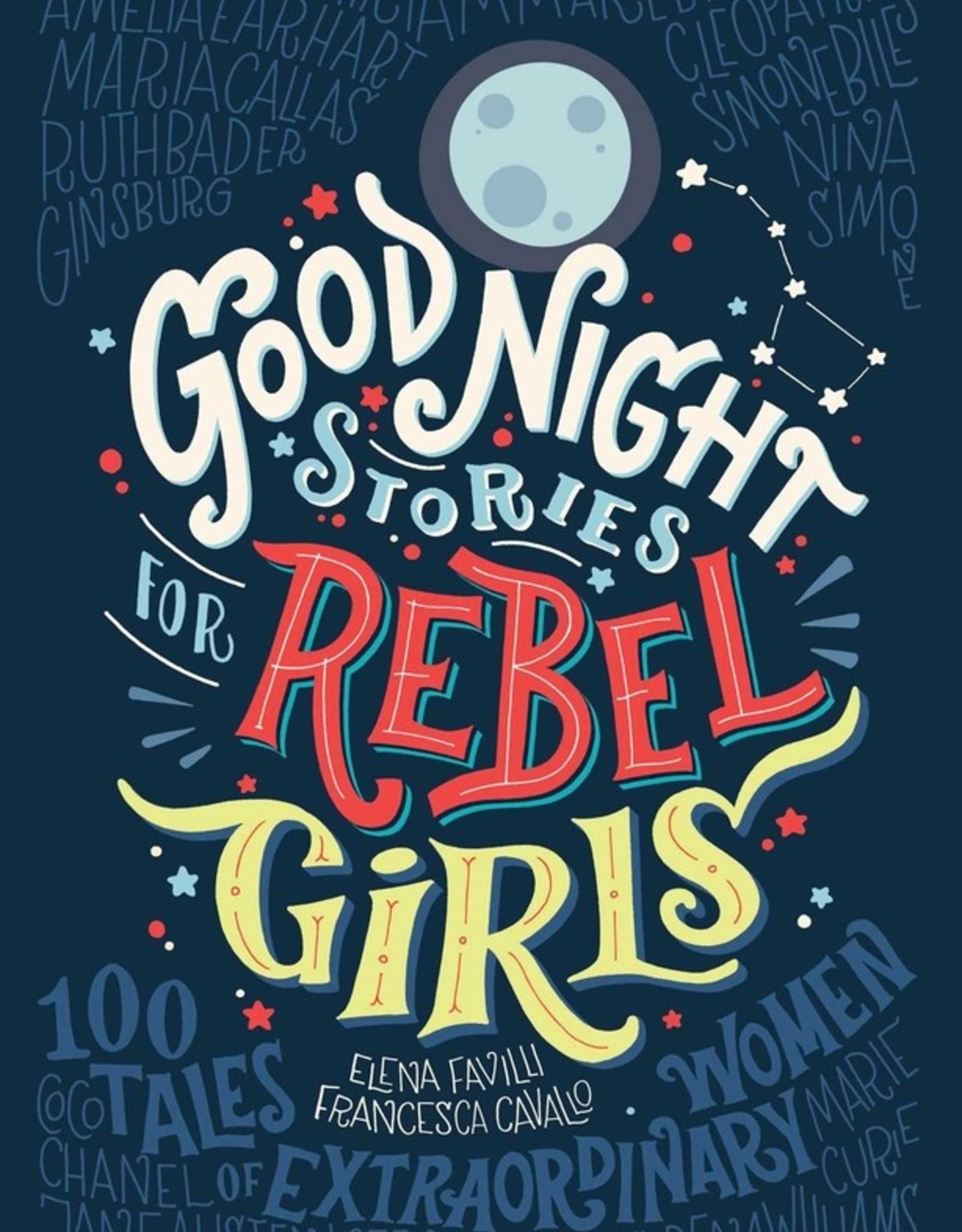 Good Night Stories for Rebel Girls, Volume 1 - Hardcover