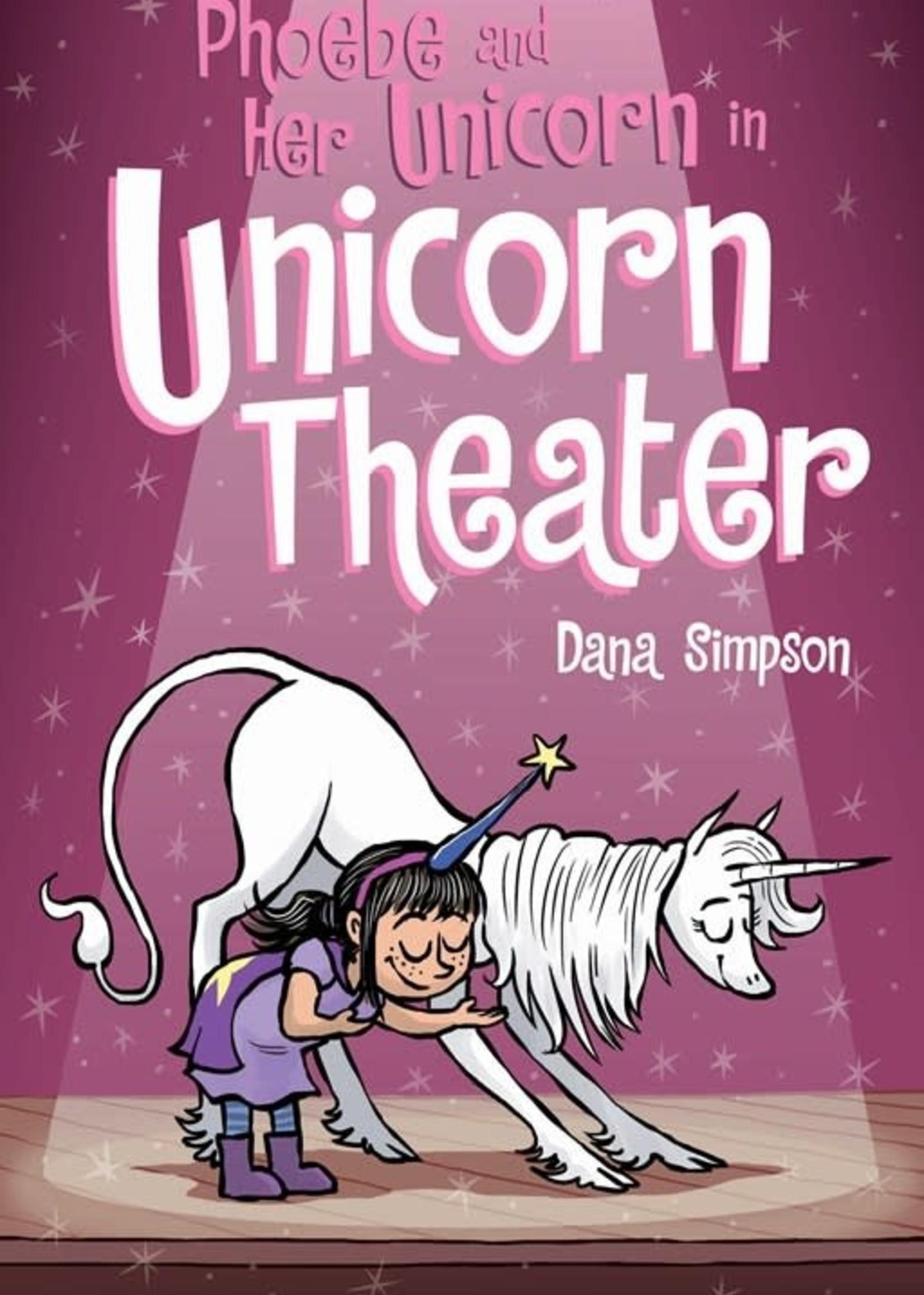 Phoebe and Her Unicorn #08, Unicorn Theater Graphic Novel- Paperback