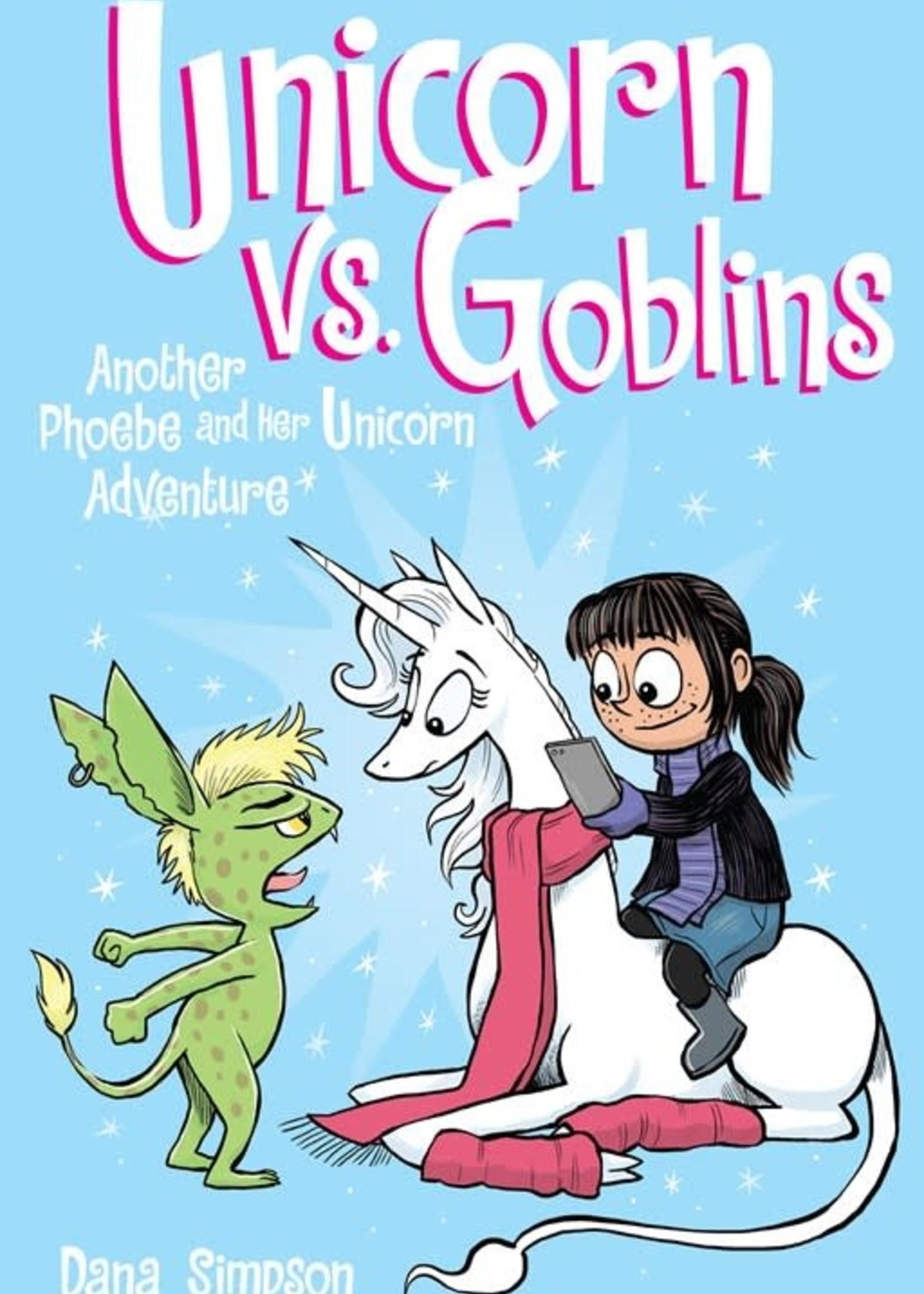 Phoebe and Her Unicorn #03, Unicorns vs. Goblins Graphic Novel - Paperback