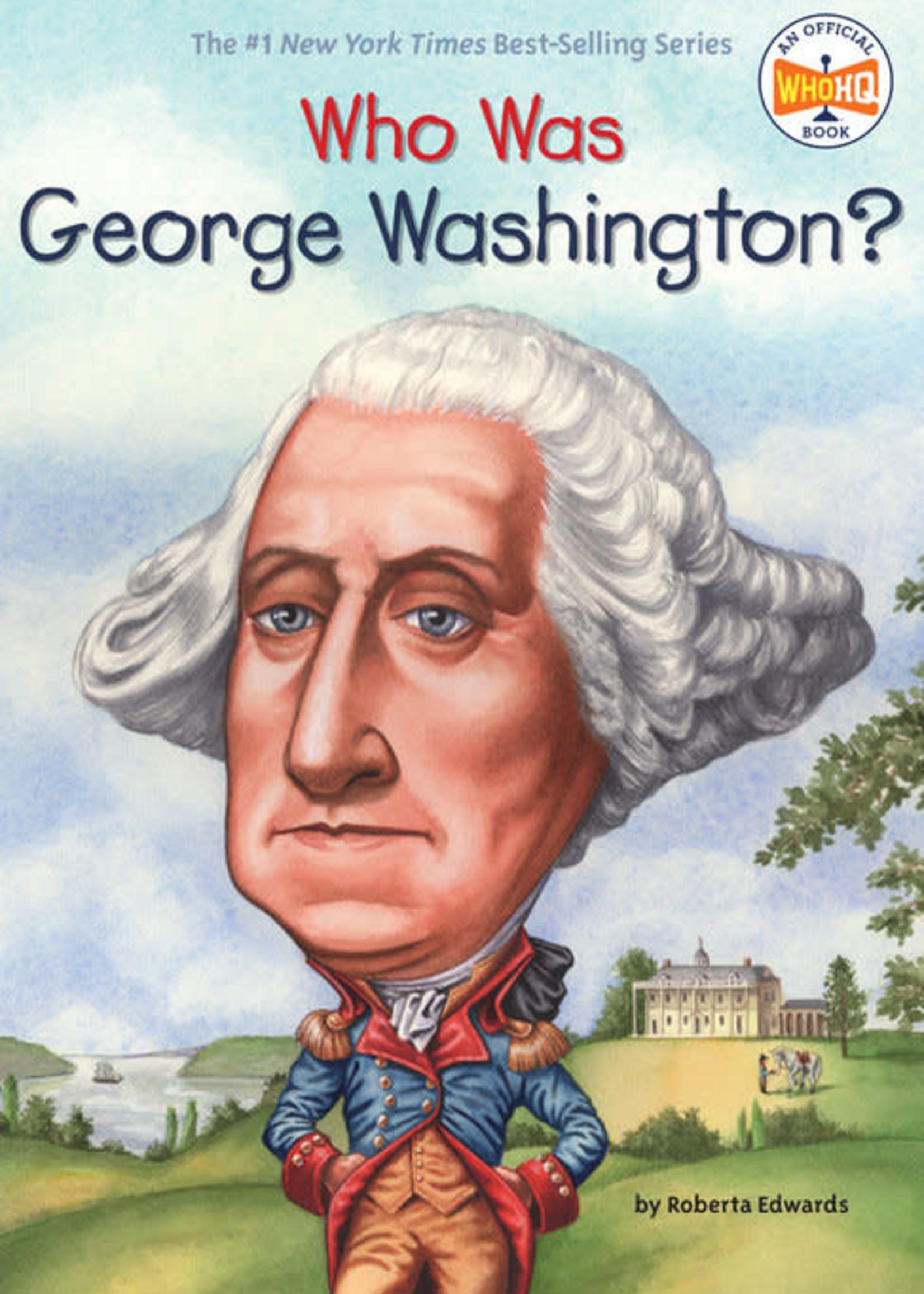 Who Was George Washington? - Paperback