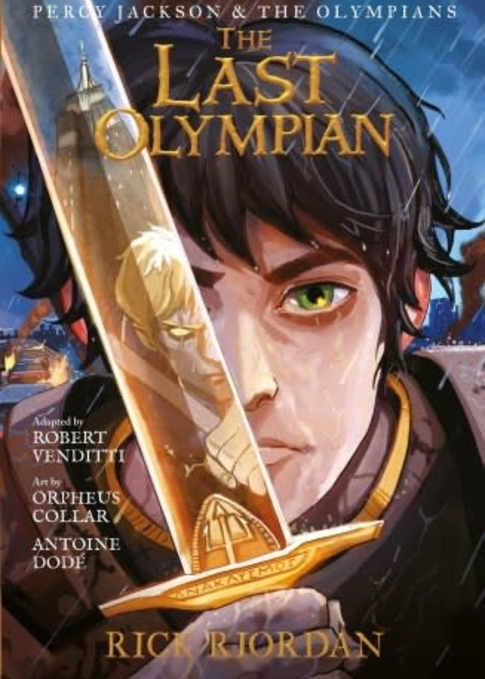 Percy Jackson and the Olympians #05, The Last Olympian Graphic Novel - Paperback