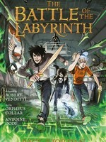 Percy Jackson and the Olympians #04, The Battle of the Labyrinth GN - PB