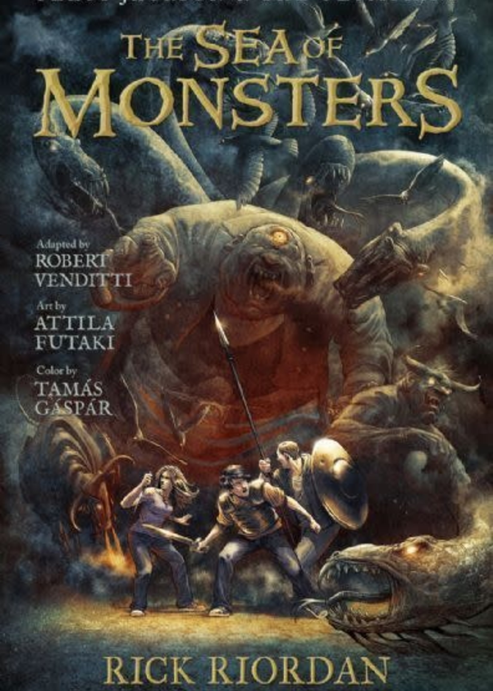 Percy Jackson and the Olympians #02, The Sea of Monsters Graphic Novel - Paperback