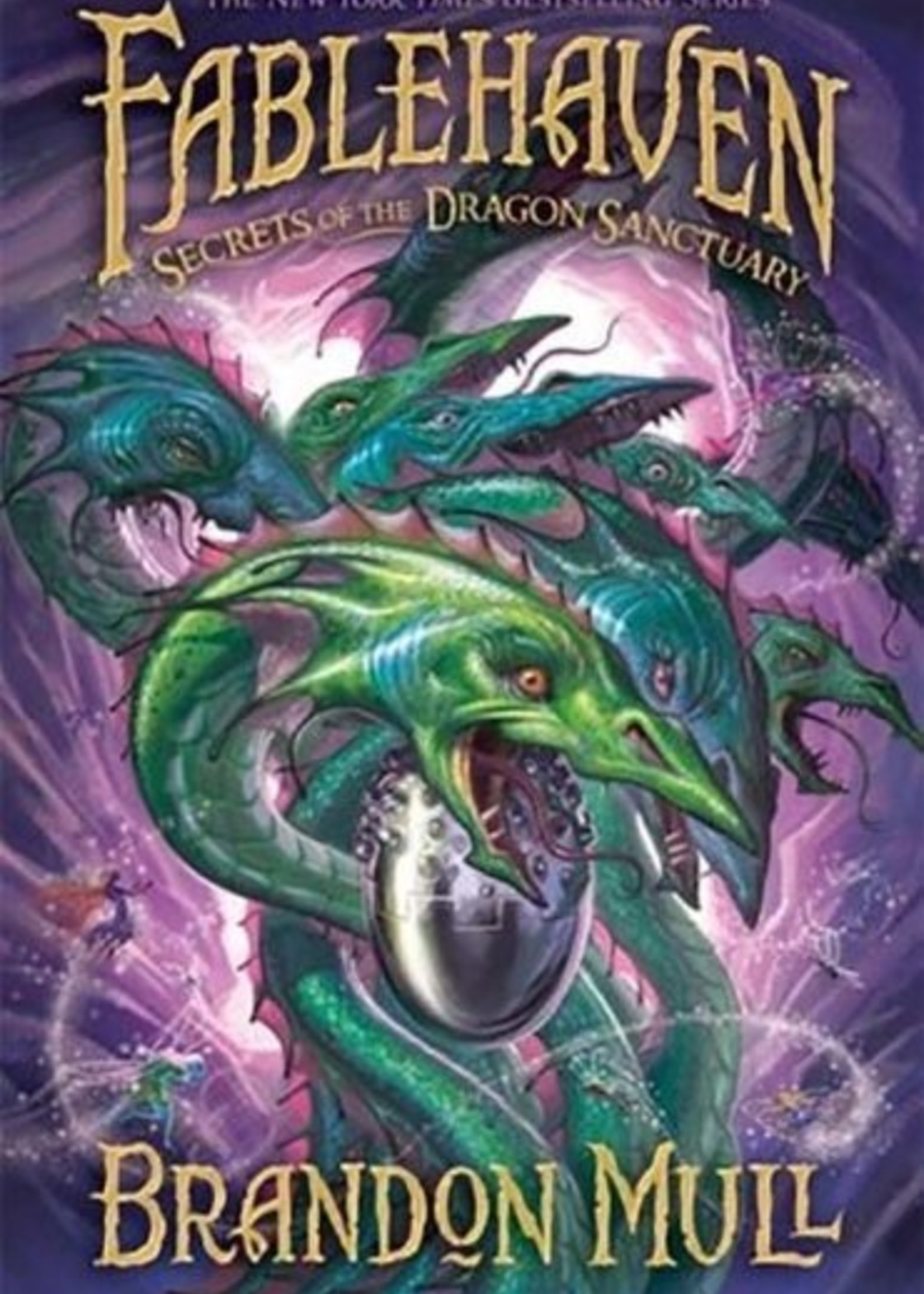 Fablehaven #04, Secrets of the Dragon Sanctuary - Hardcover