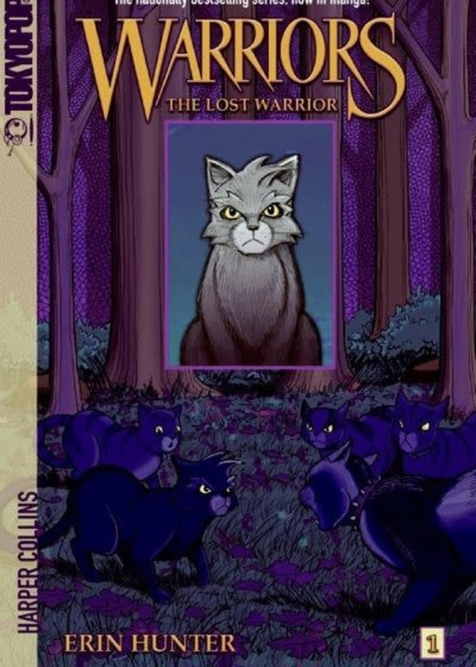 Warriors TokyoPop #01, The Lost Warrior Graphic Novel - Paperback