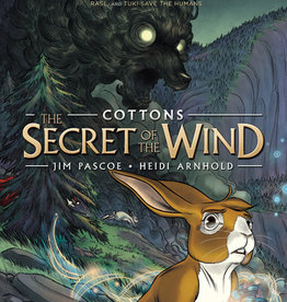 Cottons #01: The Secret of the Wind Graphic Novel- PB