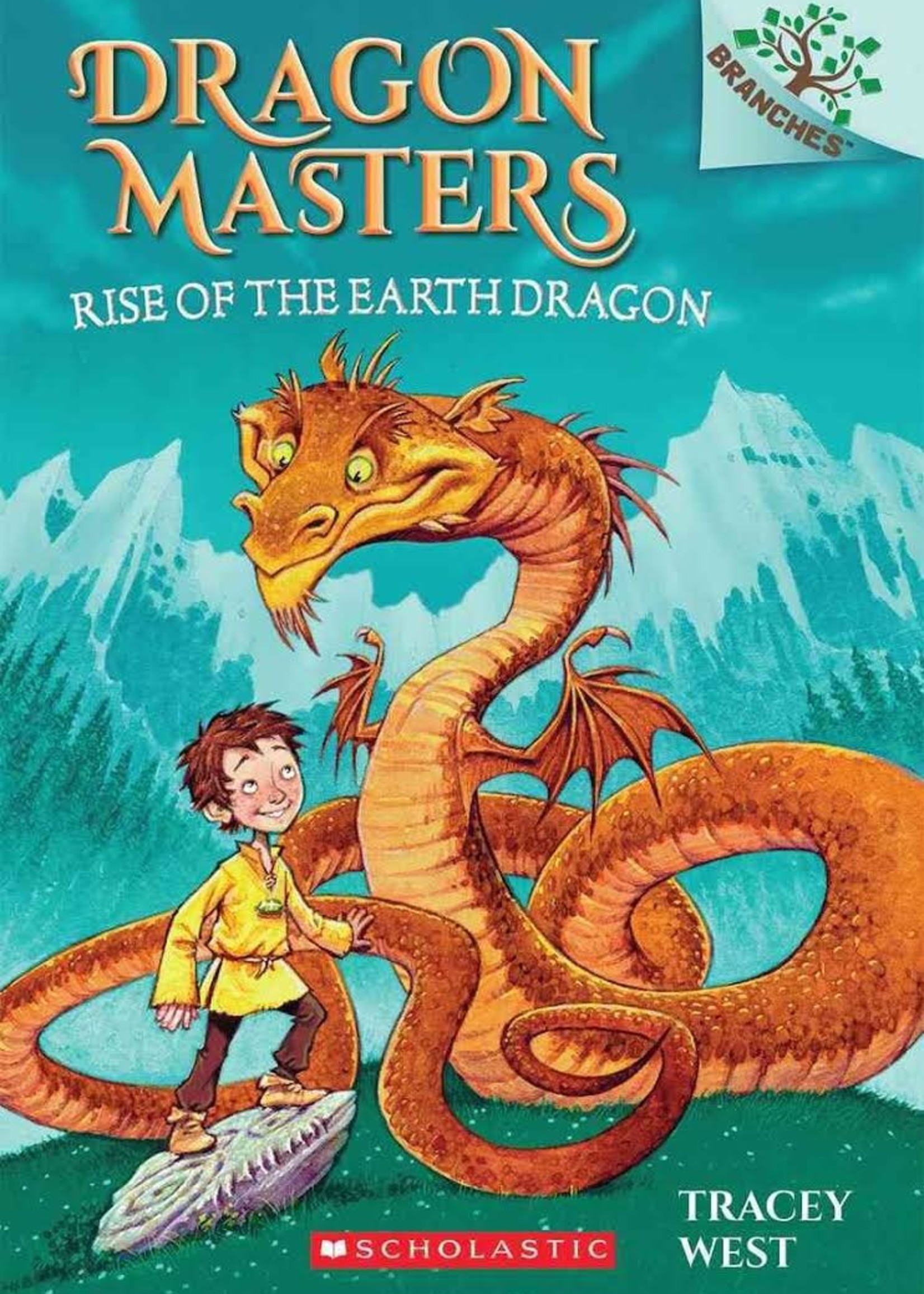 Dragon Masters #01, Rise of the Earth Dragon - Paperback