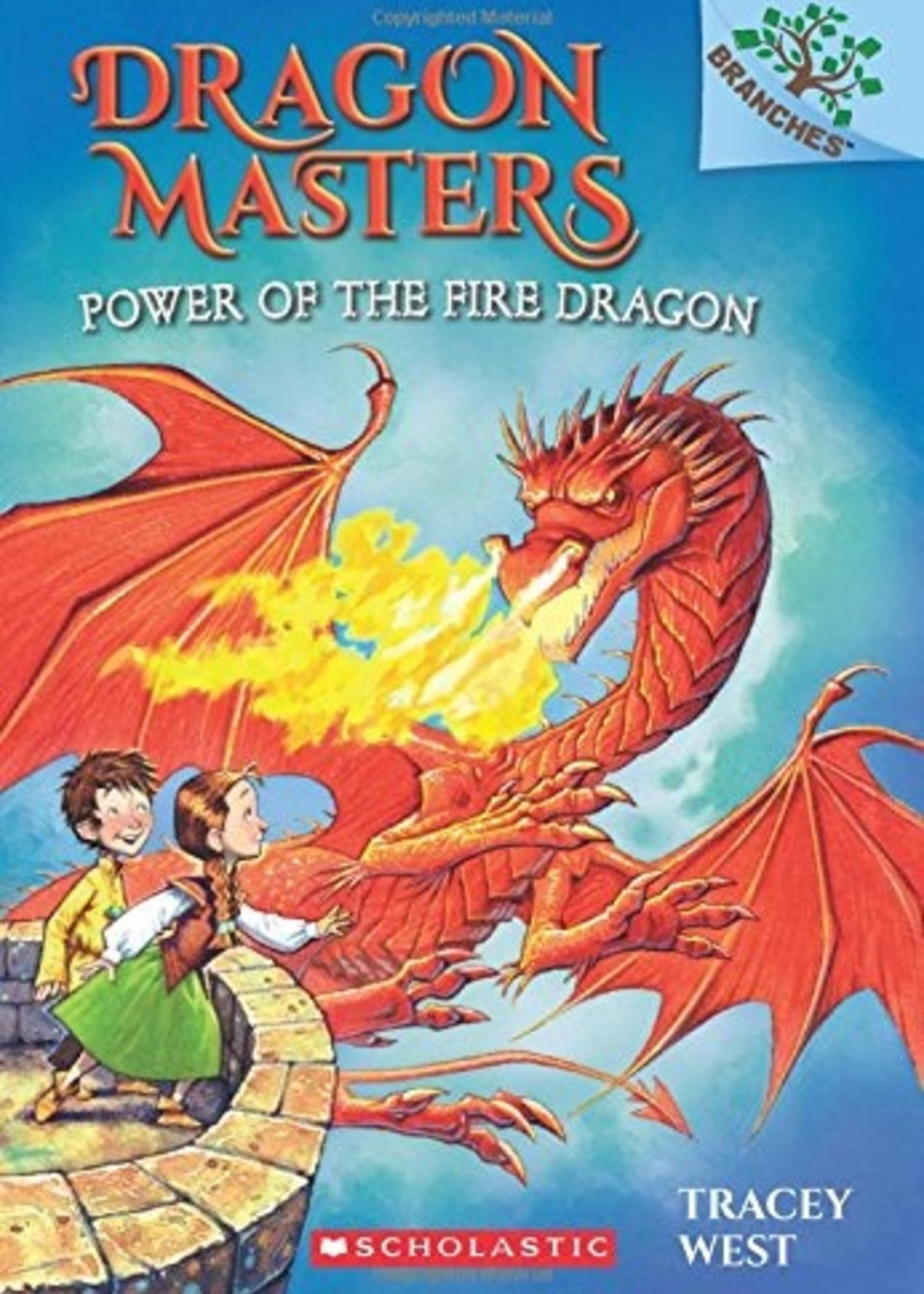 Scholastic Dragon Masters #04, Power of the Fire Dragon - Paperback