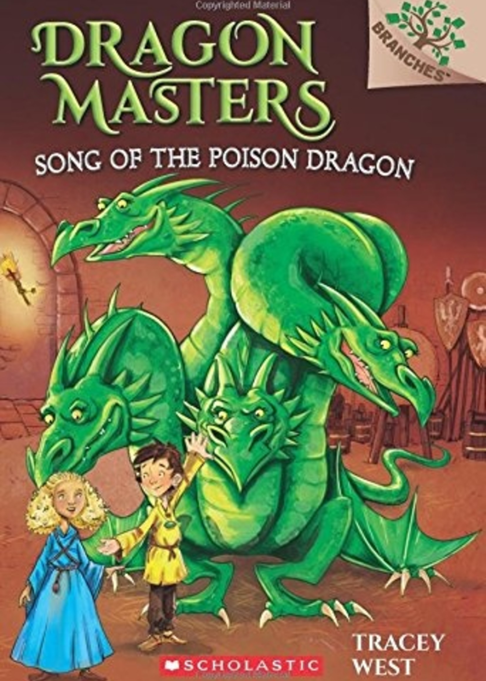 Dragon Masters #05, Song of the Poison Dragon - Paperback