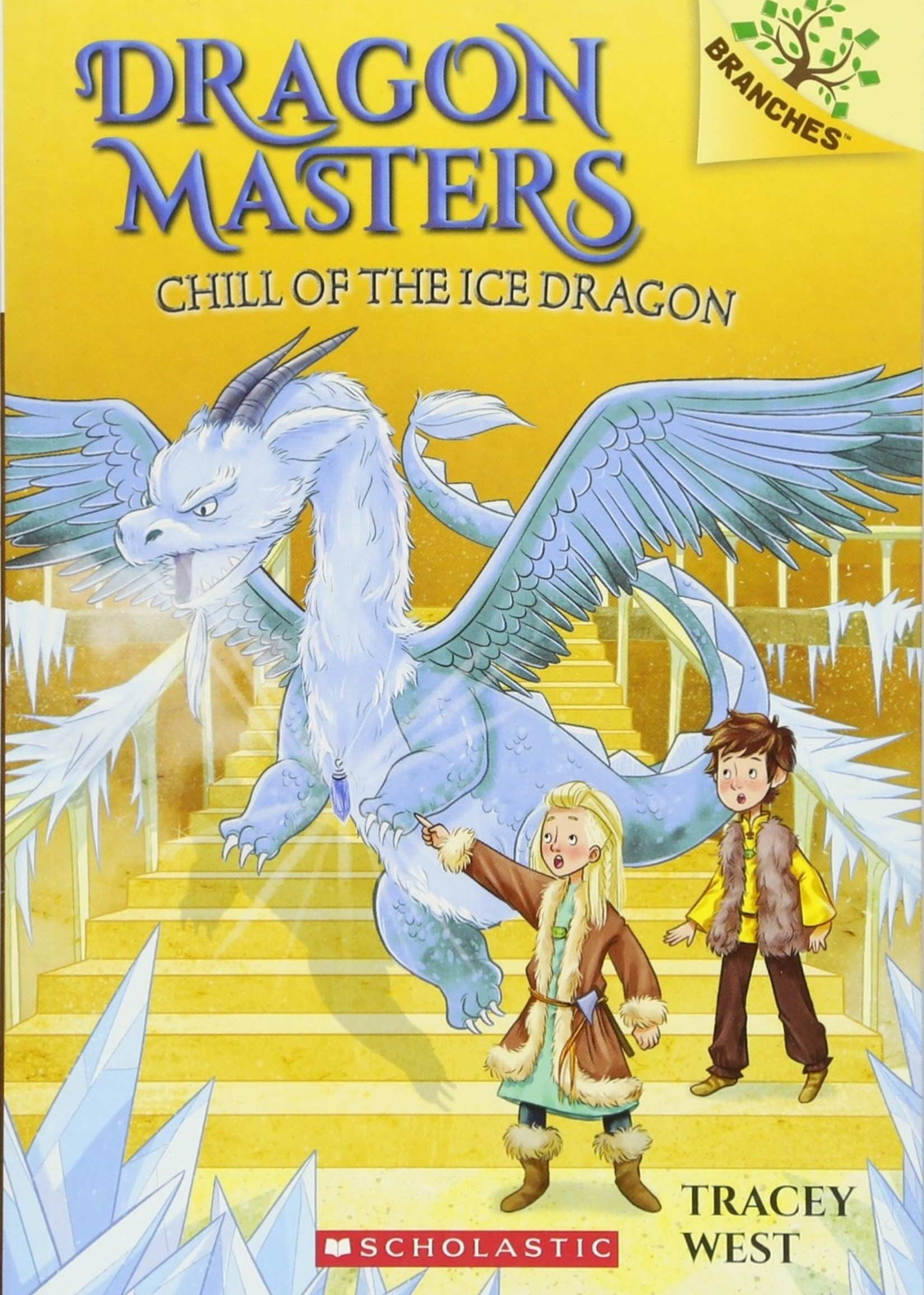 Dragon Masters #09, Chill of the Ice Dragon - Paperback