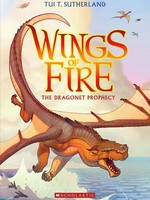 Scholastic Wings of Fire #01, The Dragonet Prophecy - PB