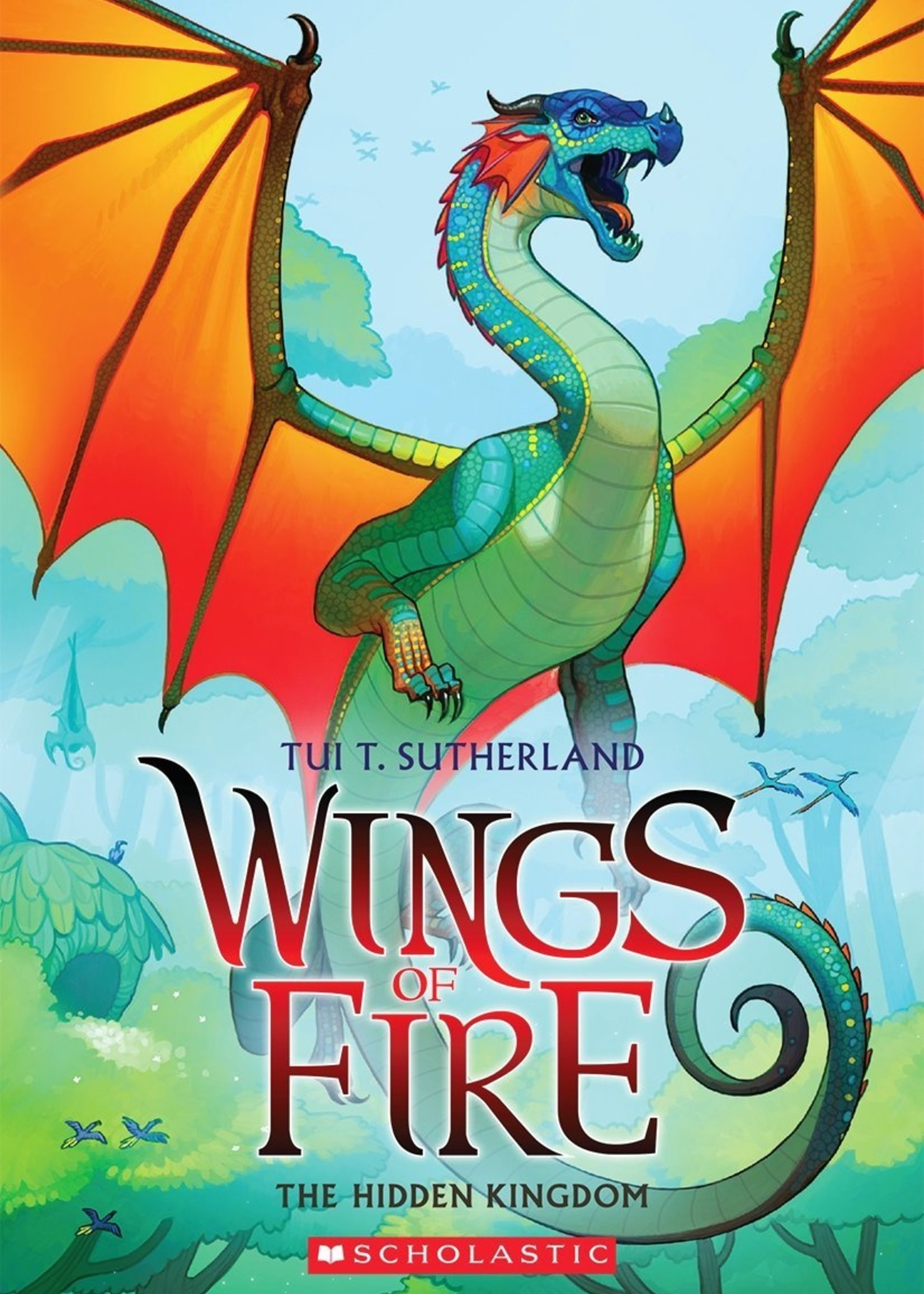 Scholastic Wings of Fire #03, The Hidden Kingdom - Paperback