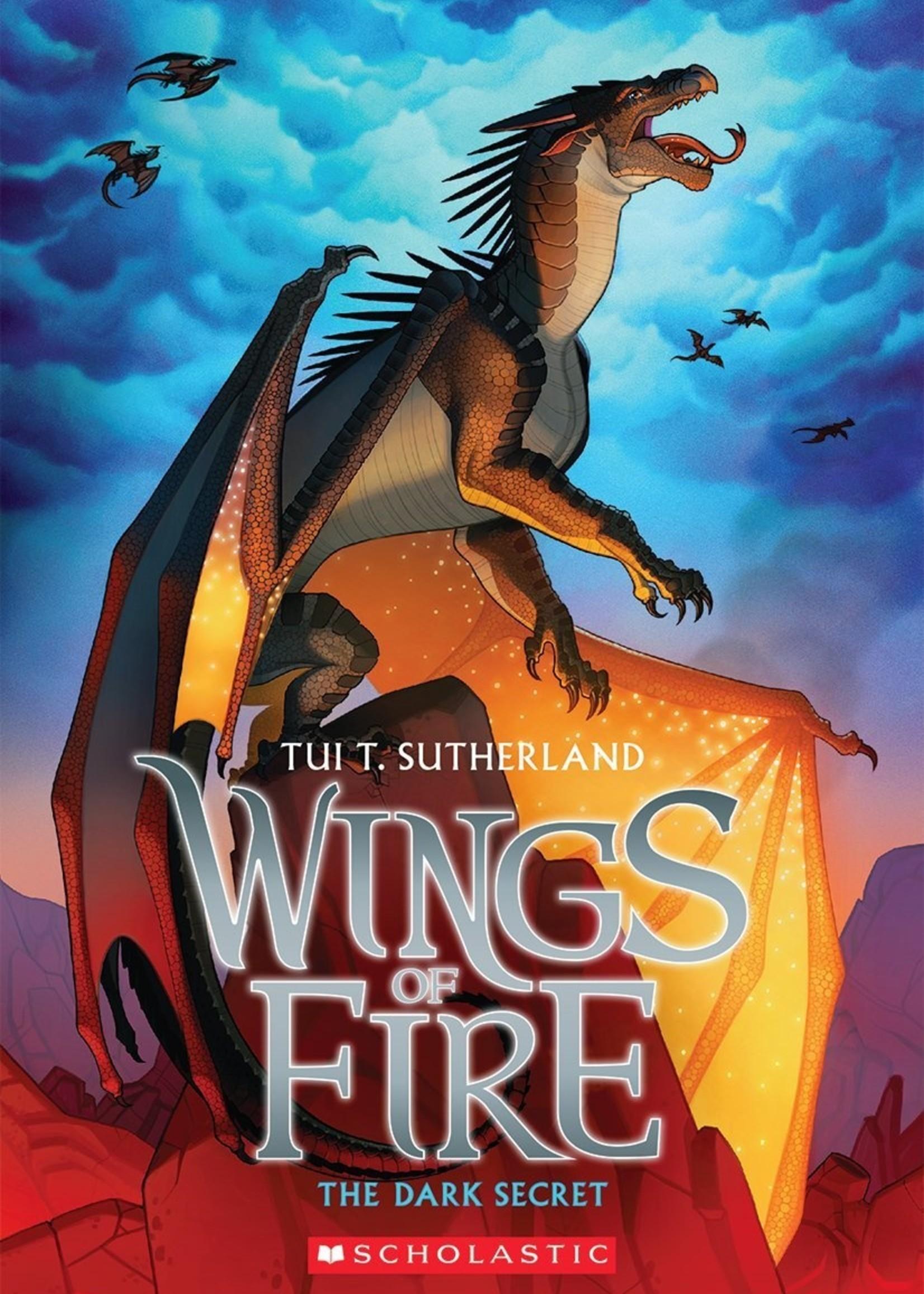 Wings of Fire #04, The Dark Secret - Paperback