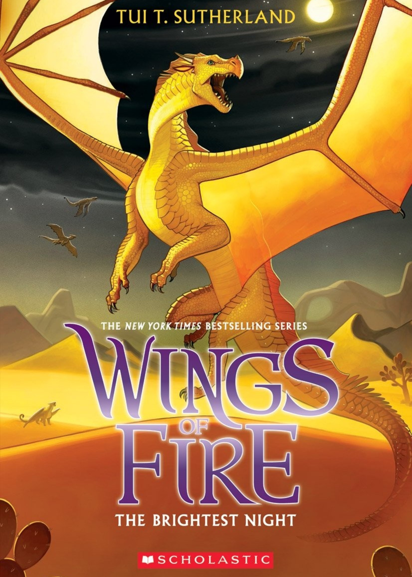 Scholastic Wings of Fire #05, The Brightest Night - Paperback
