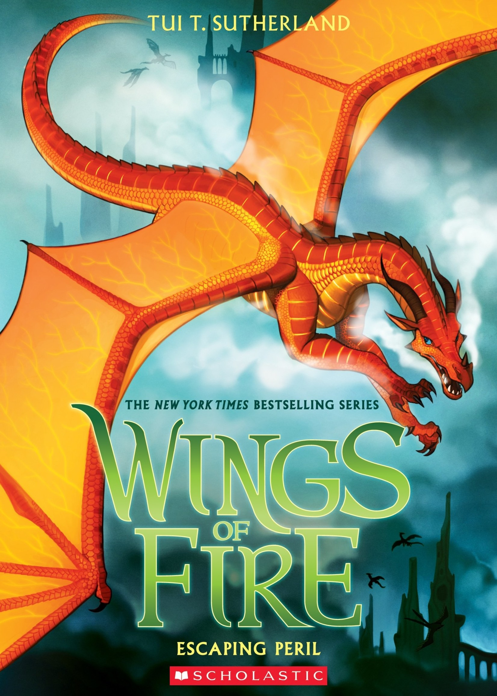 Wings of Fire #08, Escaping Peril - Paperback