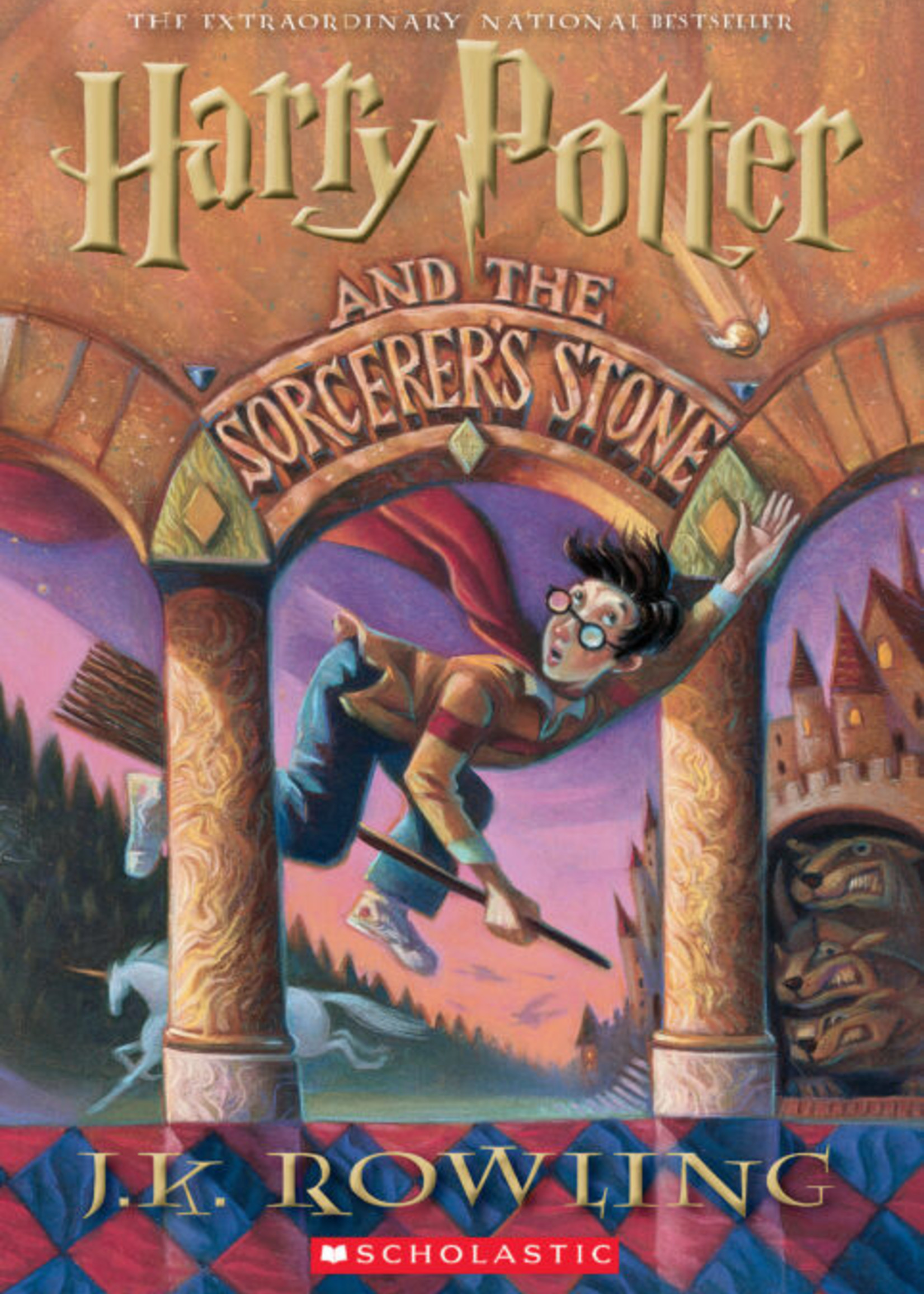 Scholastic Harry Potter #01, Harry Potter and the Sorcerer's Stone - PB