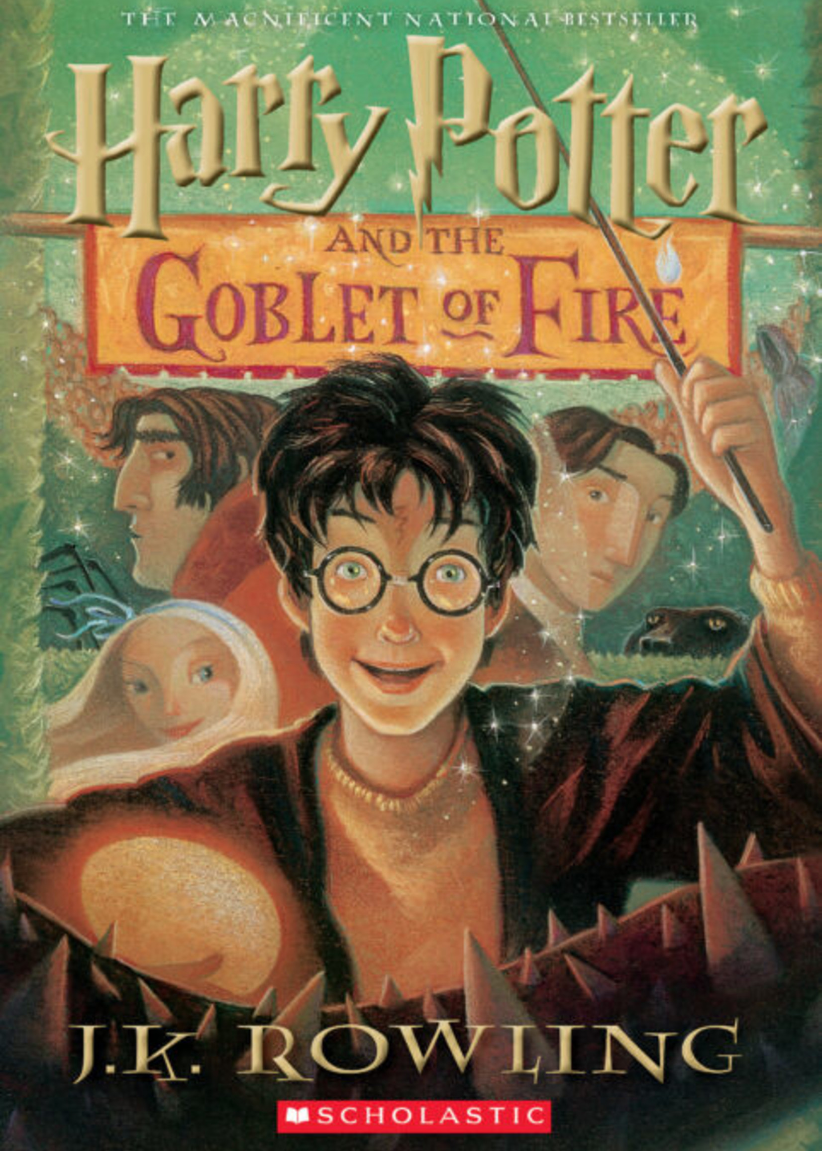 Scholastic Harry Potter #04, Harry Potter and the Goblet of Fire - PB