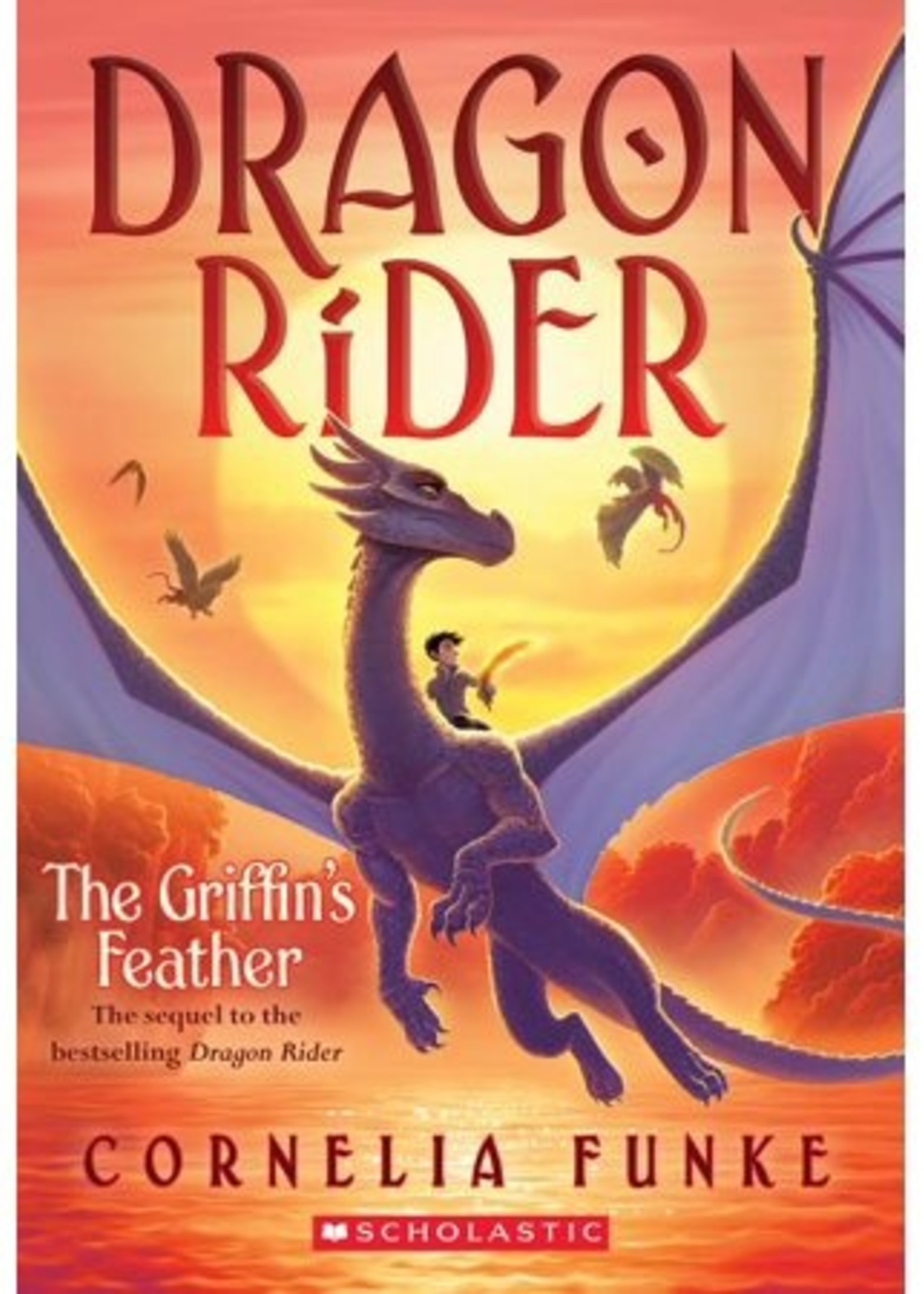 Dragon Rider #02, The Griffin's Feather - Paperback