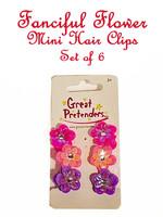Great Pretenders Fanciful Flower Mini Hair Clips