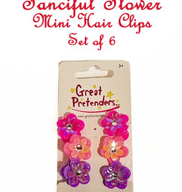 Great Pretenders Fanciful Flower Mini Hair Clips