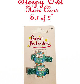Great Pretenders Sleepy Owl Clips