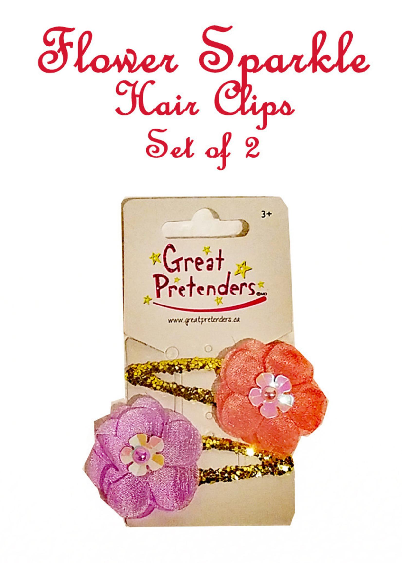 Great Pretenders Flower Sparkle Clips