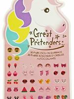 Great Pretenders Unicorn Stick-on Earrings