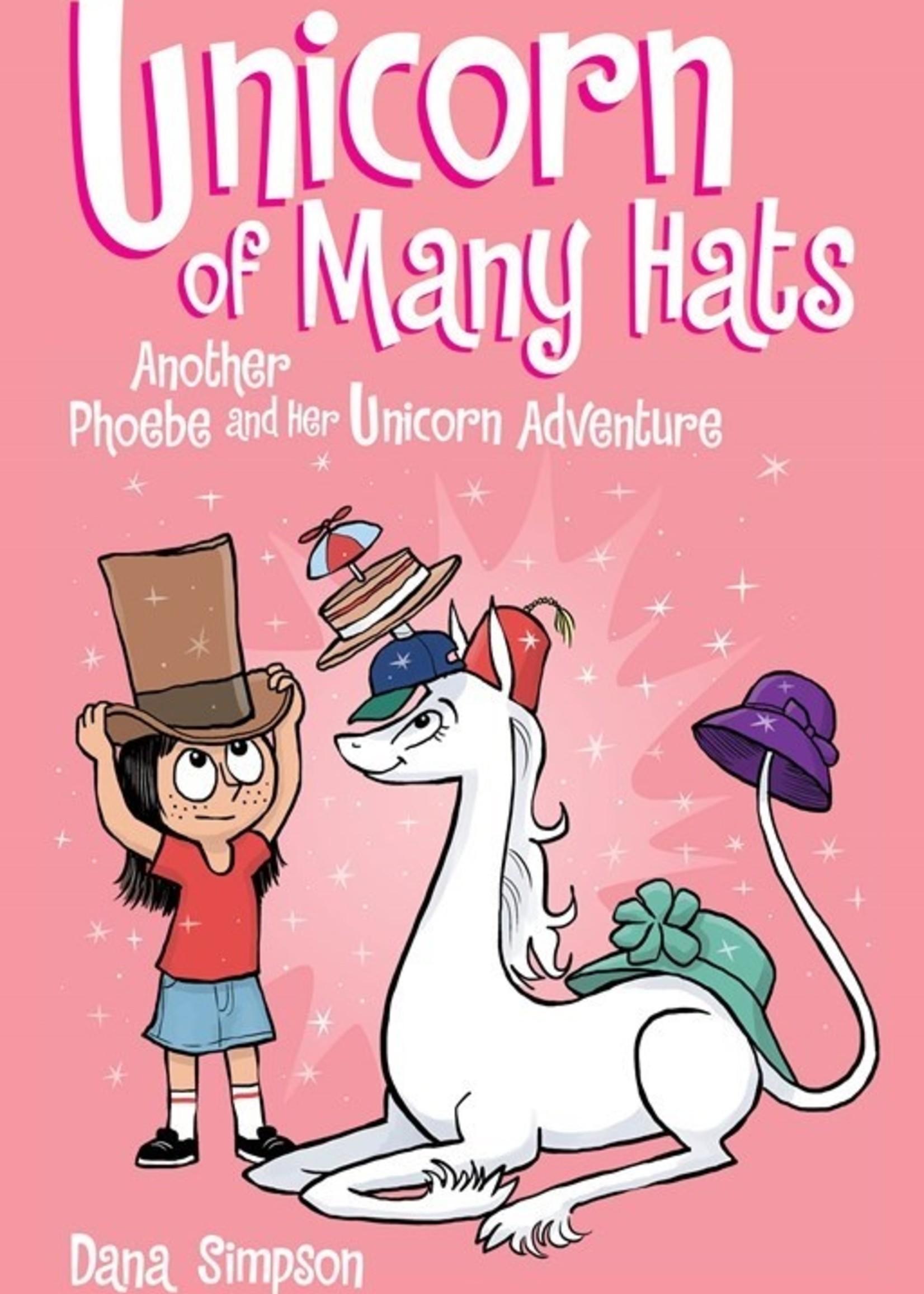Phoebe and Her Unicorn #07, Unicorn of Many Hats Graphic Novel - Paperback